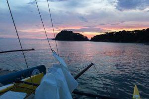 Sortie fin journée à bord du catamaran