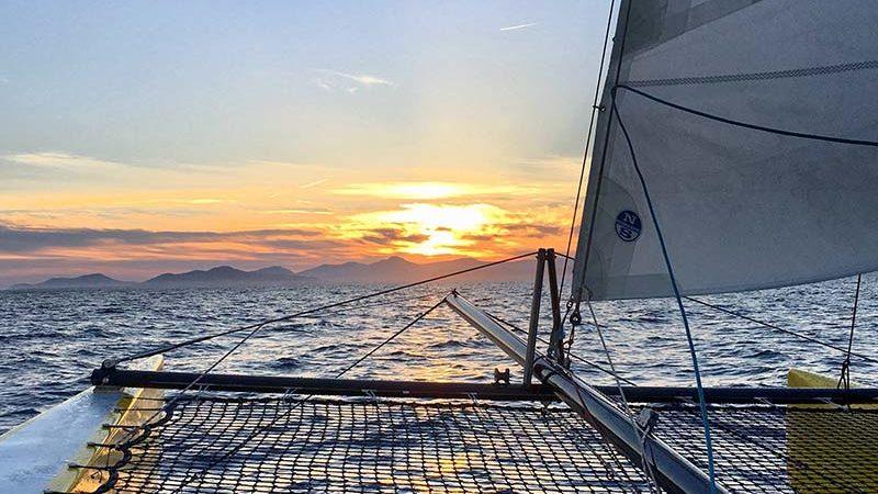 Sortie fin de journée - Sensation Sailing